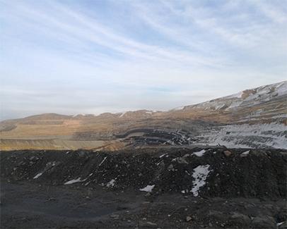 皮里青露天煤矿变形监测系统