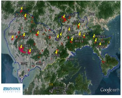 深圳水库集群监测系统